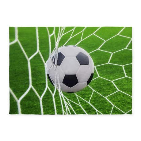 Attractive Football Goal 5u0027x7u0027Area Rug
