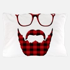 Cute Beard and glasses Pillow Case