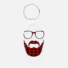 Unique Beard Keychains