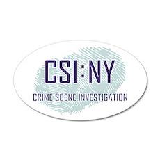 CSI : NY Wall Decal