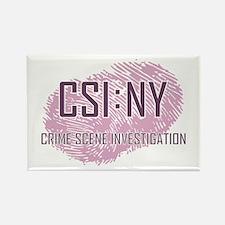 CSI : NY Rectangle Magnet