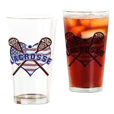 Unique Usa lacrosse Drinking Glass