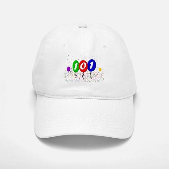 101st Birthday Cap