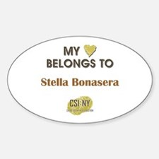 STELLA BONASERA Sticker (Oval)