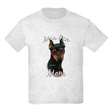 Min Pin Mom2 T-Shirt