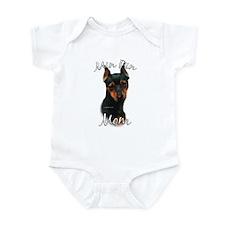 Min Pin Mom2 Infant Bodysuit