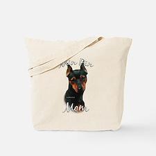 Min Pin Mom2 Tote Bag