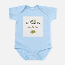 MAC TAYLOR Infant Bodysuit