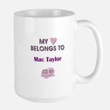 MAC TAYLOR Large Mug