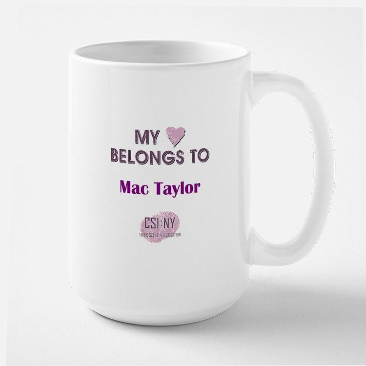MAC TAYLOR Mug