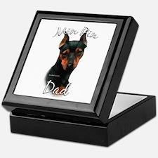 Min Pin Dad2 Keepsake Box