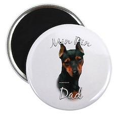 Min Pin Dad2 Magnet