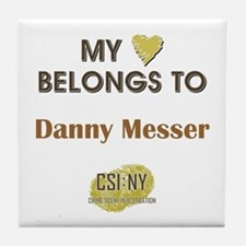 DANNY MESSER Tile Coaster