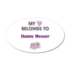 DANNY MESSER Wall Decal