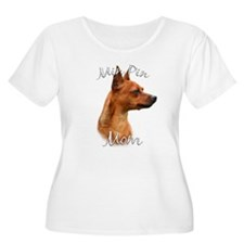 Min Pin Mom2 T-Shirt