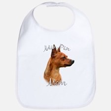 Min Pin Mom2 Bib