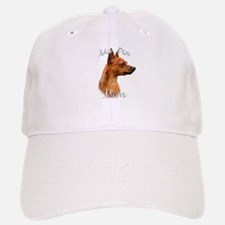 Min Pin Mom2 Baseball Baseball Cap