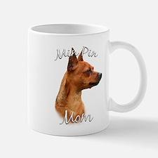Min Pin Mom2 Mug