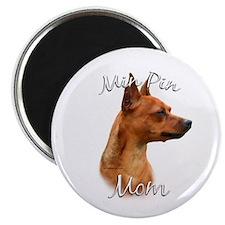 Min Pin Mom2 Magnet