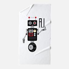 Artificial Intelligence Beach Towel