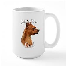 Min Pin Dad2 Mug