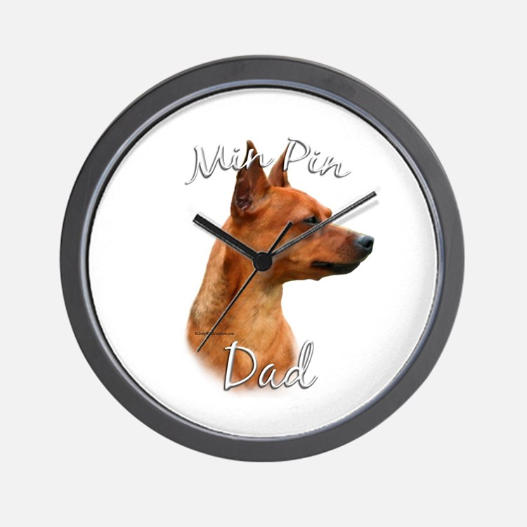 Min Pin Dad2 Wall Clock