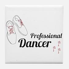 Professional Dancer Tile Coaster