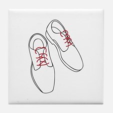 Mens Shoes Tile Coaster