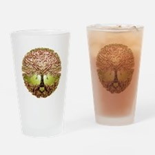 Funny Tree roots Drinking Glass