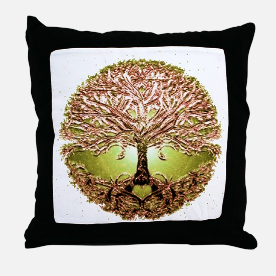 Cute Tree of life Throw Pillow