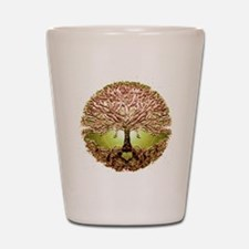 Cool Tree roots Shot Glass