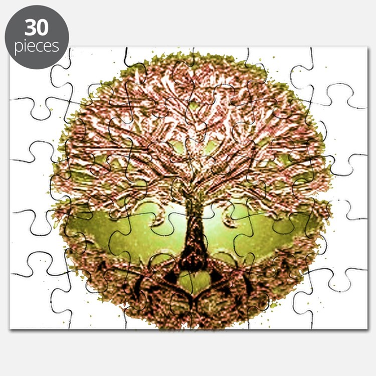 Cute Tree roots Puzzle
