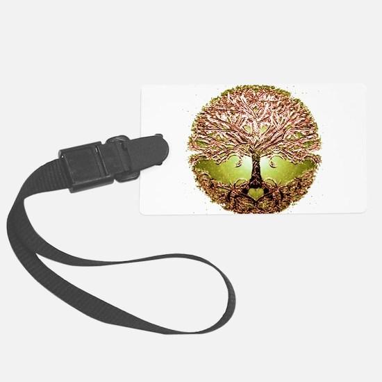 Cute Tree of life Luggage Tag