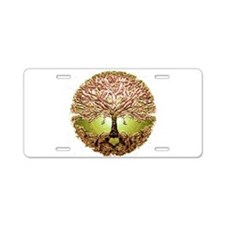 Funny Tree of life Aluminum License Plate