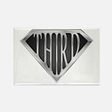 SuperThird(metal) Rectangle Magnet
