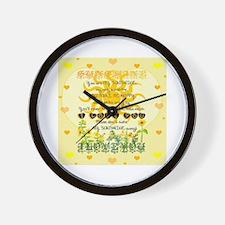 Cute Heart shaped Wall Clock