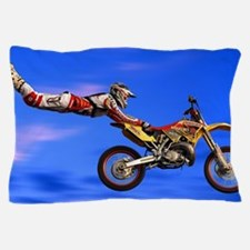 Motocross Freestyle Pillow Case