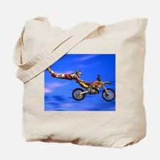 Motocross Freestyle Tote Bag