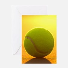 Tennis Ball Greeting Cards