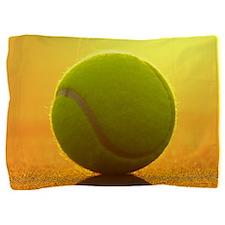 Tennis Ball Pillow Sham