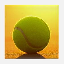 Tennis Ball Tile Coaster
