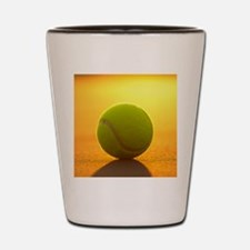 Tennis Ball Shot Glass
