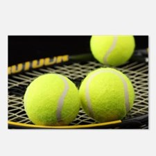Tennis Balls And Racquet Postcards (Package of 8)
