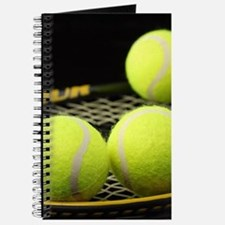 Tennis Balls And Racquet Journal