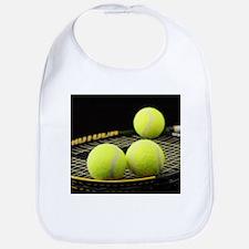 Tennis Balls And Racquet Bib