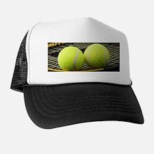 Tennis Balls And Racquet Hat