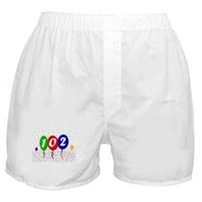 102nd Birthday Boxer Shorts