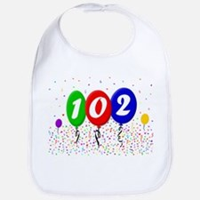 102nd Birthday Bib