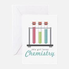 Love Chemistry Greeting Cards