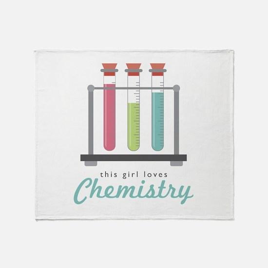 Love Chemistry Throw Blanket